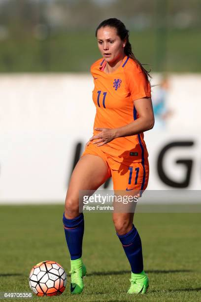 Lieke Martens of Netherlands during the Algarve Cup Tournament Match between Sweden W and Netherlands W on March 6 2017 in Lagos Portugal