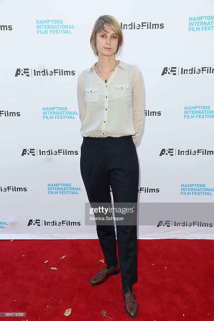 Liesbeth De Ceulaer attends the 21st Annual Hamptons International Film Festival on October 12, 2013 in East Hampton, New York.