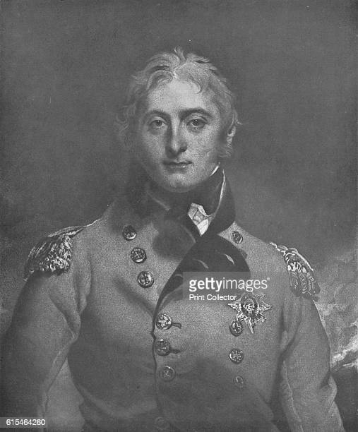 Lieut General Sir John Moore KB' c1809 After Thomas Lawrence General Sir John Moore commanded the British forces at the Battle of Corunna Peninsular...