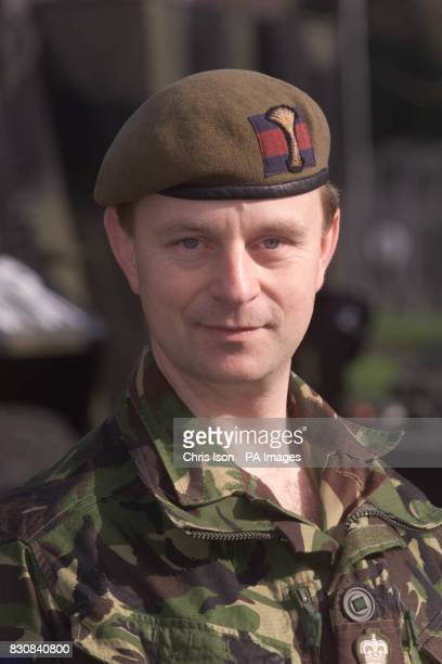 Lieutenant Colonel Robert Talbot Rice Commanding Officer of the 1st Battalion Welsh Guards at Aldershot The Welsh Guards are moving to St Athan near...
