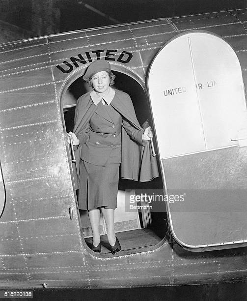 Lieutenant Ellen E Church was today proclaimed the 'Worlds original air line stewardess' by United Airlines She was the first stewardess employed by...