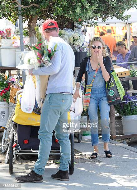 Liev Schreiber and Naomi Watts are seen on May 11 2014 in Los Angeles California