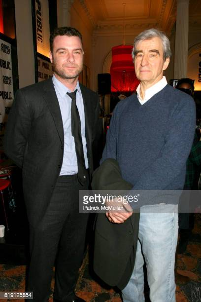 Liev Schreiber and Sam Waterston attend THE PUBLIC THEATRE Kicks Off Building Renovations and Launches CAPITAL CAMPAIGN With CEREMONIAL...