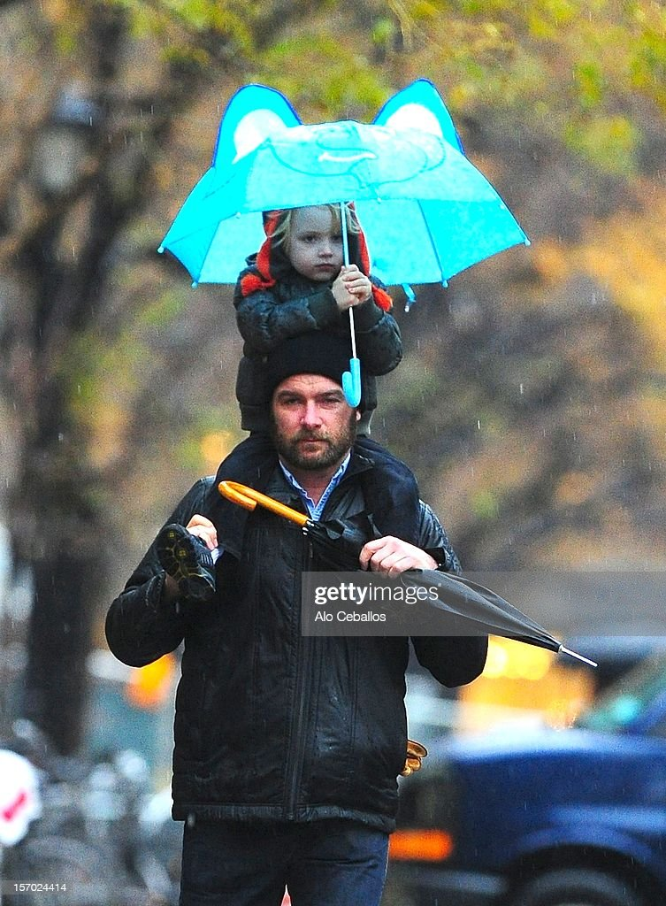 <a gi-track='captionPersonalityLinkClicked' href=/galleries/search?phrase=Liev+Schreiber&family=editorial&specificpeople=203259 ng-click='$event.stopPropagation()'>Liev Schreiber</a> and <a gi-track='captionPersonalityLinkClicked' href=/galleries/search?phrase=Samuel+Kai+Schreiber&family=editorial&specificpeople=5668021 ng-click='$event.stopPropagation()'>Samuel Kai Schreiber</a> are seen in Tribeca on November 27, 2012 in New York City.