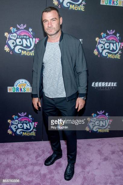 Liev Schreiber attends 'My Little Pony The Movie' New York screening at AMC Lincoln Square Theater on September 24 2017 in New York City