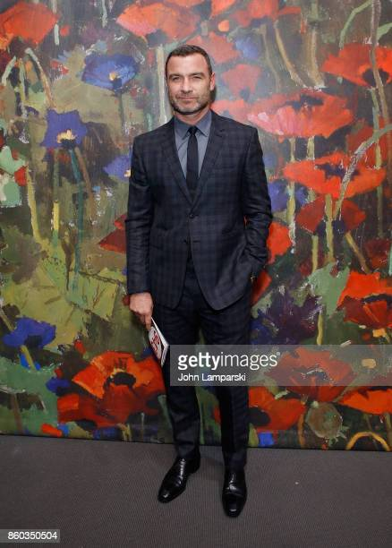 Liev Schreiber attends the 2017 Take Home A Nude Art Party and auction at Sotheby's on October 11 2017 in New York City