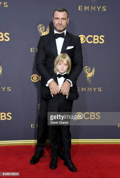Liev Schreiber attends the 69th Annual Primetime Emmy Awards at Microsoft Theater on September 17 2017 in Los Angeles California