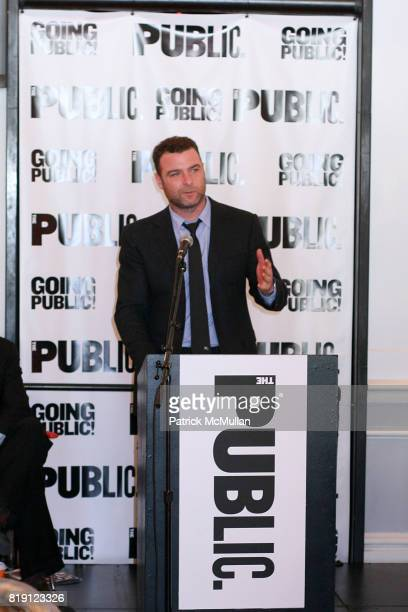 Liev Schreiber attends THE PUBLIC THEATRE Kicks Off Building Renovations and Launches CAPITAL CAMPAIGN With CEREMONIAL GROUNDBREAKING at The Public...