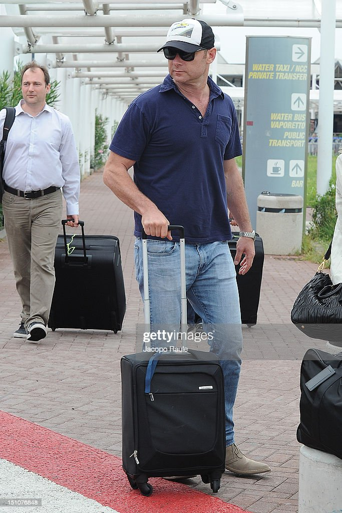 Liev Schreiber is seen during The 69th Venice Film Festival on August 31, 2012 in Venice, Italy.