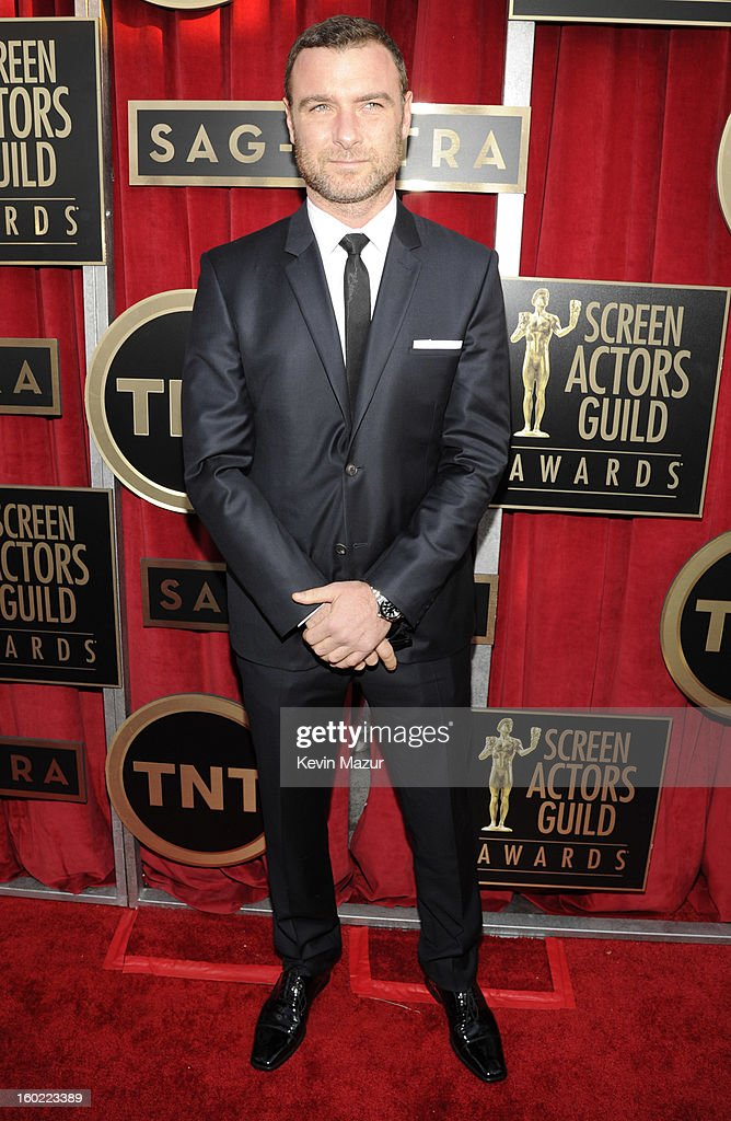 Liev Schrieber attends the 19th Annual Screen Actors Guild Awards at The Shrine Auditorium on January 27, 2013 in Los Angeles, California. (Photo by Kevin Mazur/WireImage) 23116_016_0281.jpg