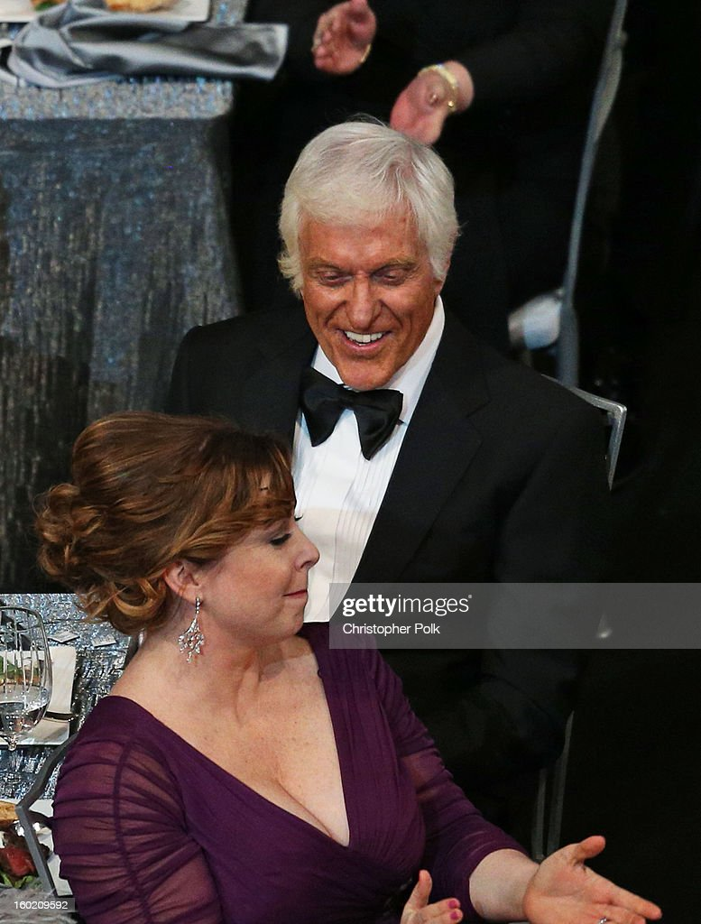Life Achievement Award Winner Dick Van Dyke (R) and wife Arlene Silver attends the 19th Annual Screen Actors Guild Awards at The Shrine Auditorium on January 27, 2013 in Los Angeles, California. (Photo by Christopher Polk/WireImage) 23116_012_1193.JPG