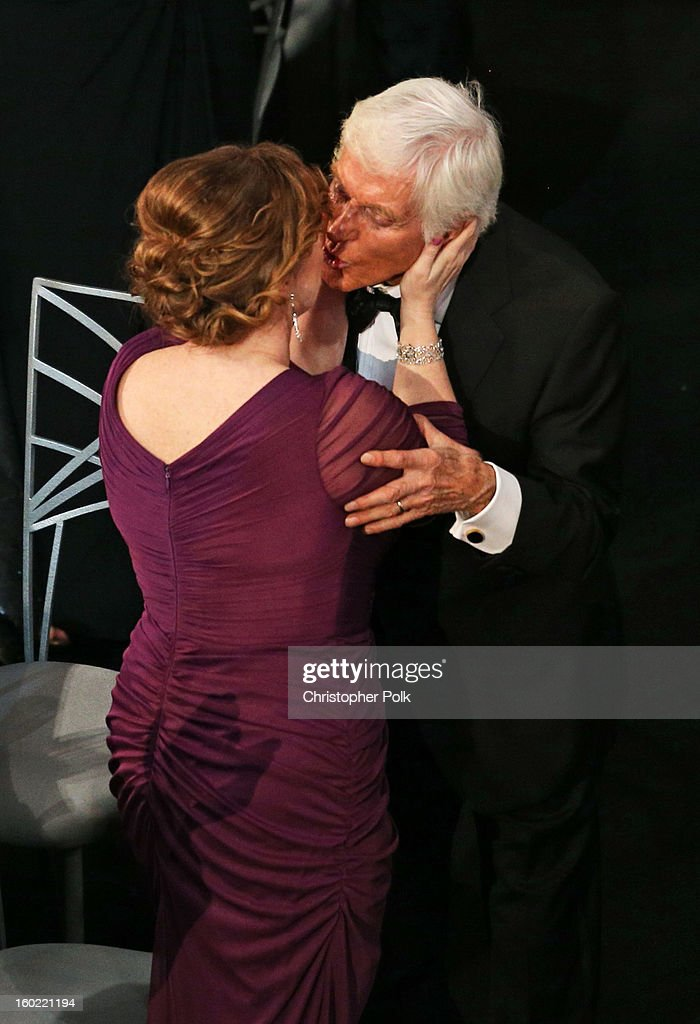 Life Achievement Award Winner Dick Van Dyke (R) and wife Arlene Silver attend the 19th Annual Screen Actors Guild Awards at The Shrine Auditorium on January 27, 2013 in Los Angeles, California. (Photo by Christopher Polk/WireImage) 23116_012_1210.JPG