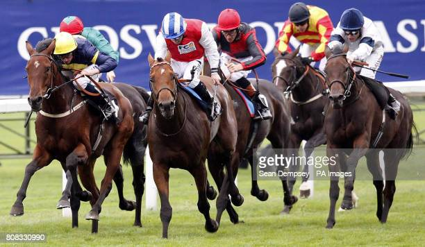 Life and Soul ridden by Neil Callan go on to win the PwC Handicap Stakes during the Family Fun Day at Ascot Racecourse Berkshire