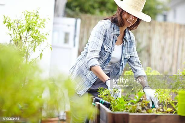 La vraie vie commence dans un jardin