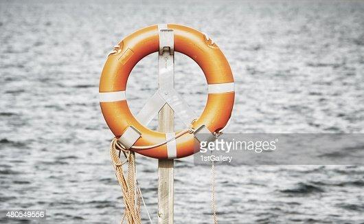 life belt, rescue ring : Stock Photo