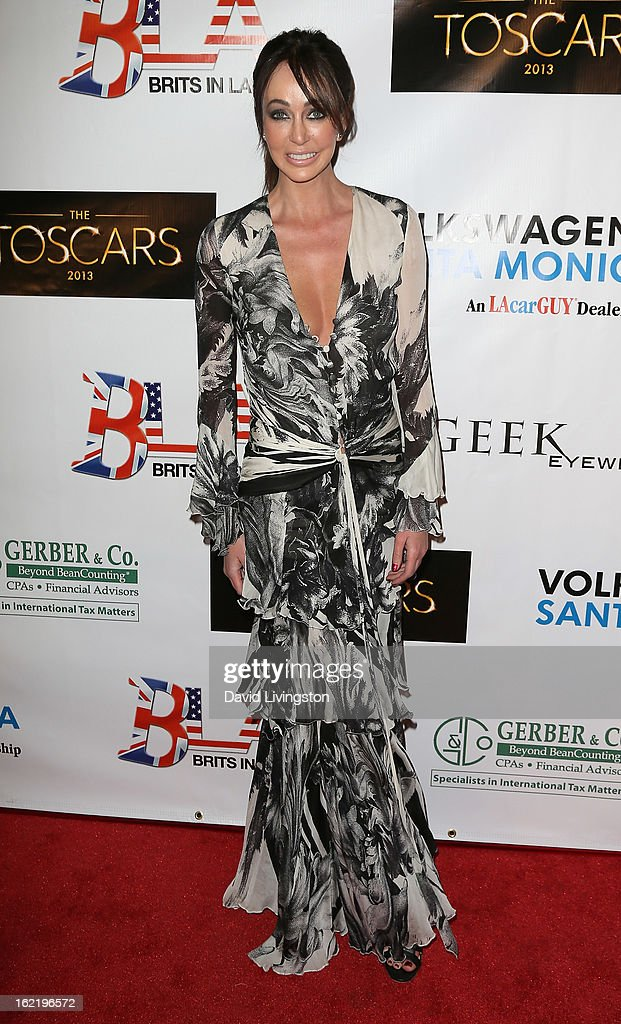Life coach Melanie Mar attends the 6th Annual Toscar Awards at the Egyptian Theatre on February 19, 2013 in Hollywood, California.