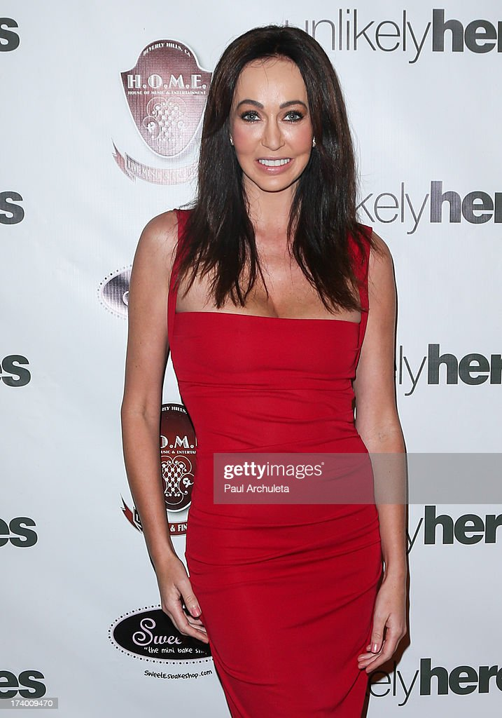Life Coach Melanie Mar attends the birthday celebration for Chelsie Hightower and Peta Murgatroyd and also supporting the 'Unlikely Heroes' charity organization on July 18, 2013 in Los Angeles, California.
