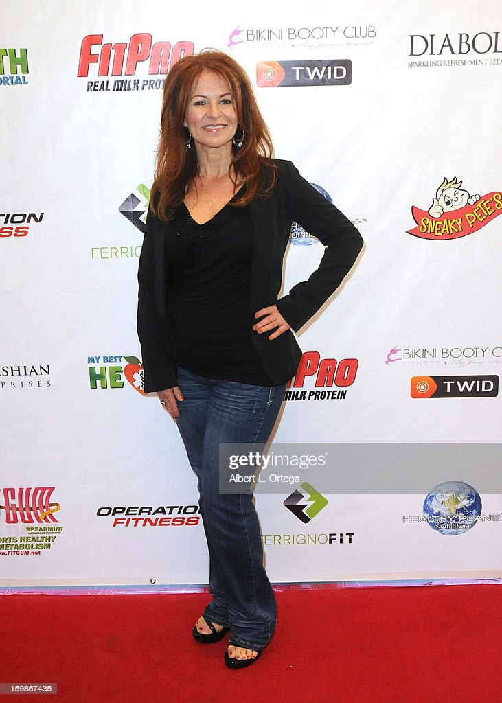 Life coach Susie Augustin participates in the Red Carpet Health Expo held at The Vitamin Shoppe on January 12, 2013 in Los Angeles, California.
