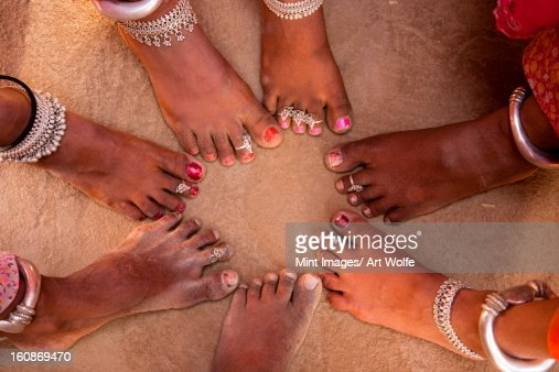 Life in a small Rajasthan village, India : Stock Photo