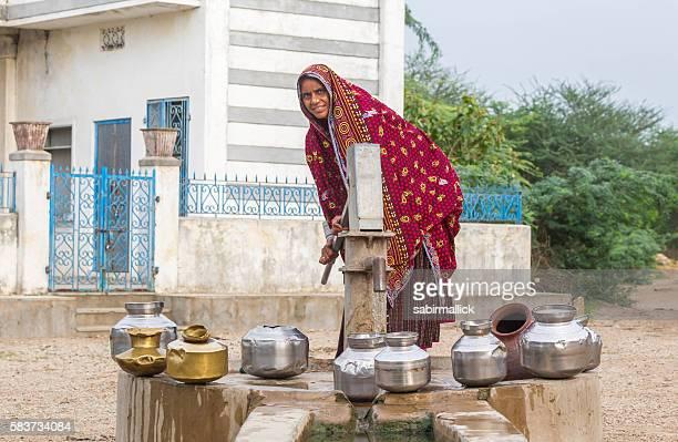 Life in Indian village, Rajasthan, India