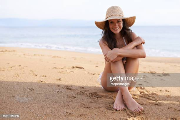 Das Leben ist hinter den Strand!