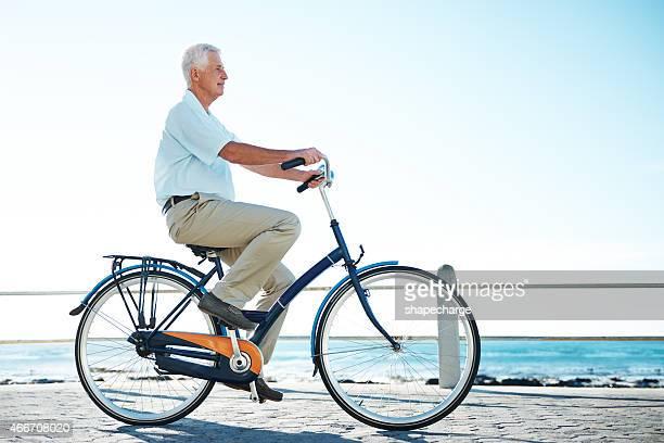 La vida es más clara cuando esté en su bicicleta