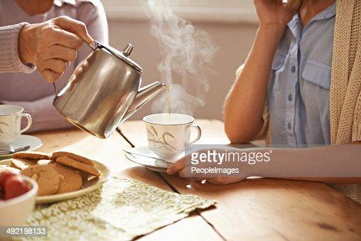 Life is like a tea cup