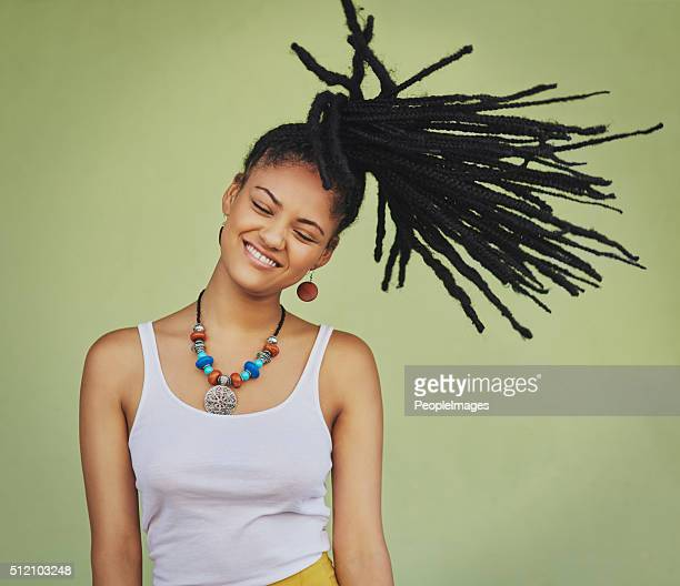 La vie est courte, faire un Flip fabuleux les cheveux
