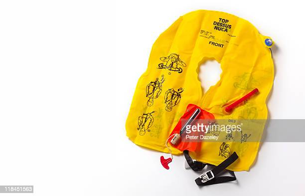 Life jacket with copy space