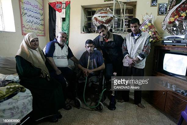 Life Of The Palestinians In Gaza La peur et la pauvreté sont le quotidien des familles palestiniennes vivant dans la bande de GAZA Saed Allah ANEPE...