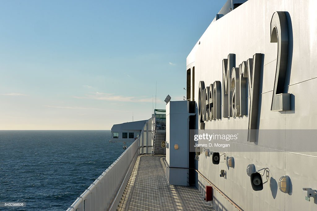 Life on board the world's largest ocean liner Cunard's Queen Mary 2 on November 18 2014 in St John Nova Scotia Captain Kevin Oprey is also pictured...