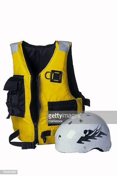 Life vest and helmet