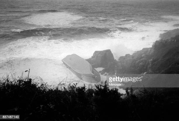 Lifeboat Accident Disaster at Penlee in Cornwall December 1981 The boat washed ashore