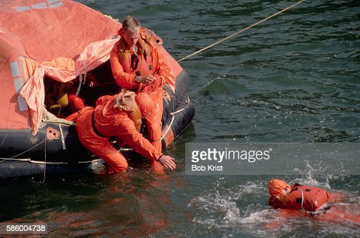 Lifeboat Drills in the Water