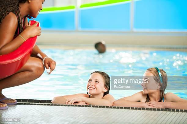 Des maîtres nageurs