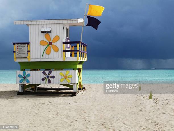Lifeguard Stand South Miami Beach