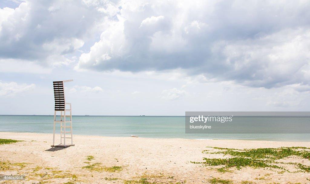 lifeguard tower : Stock Photo