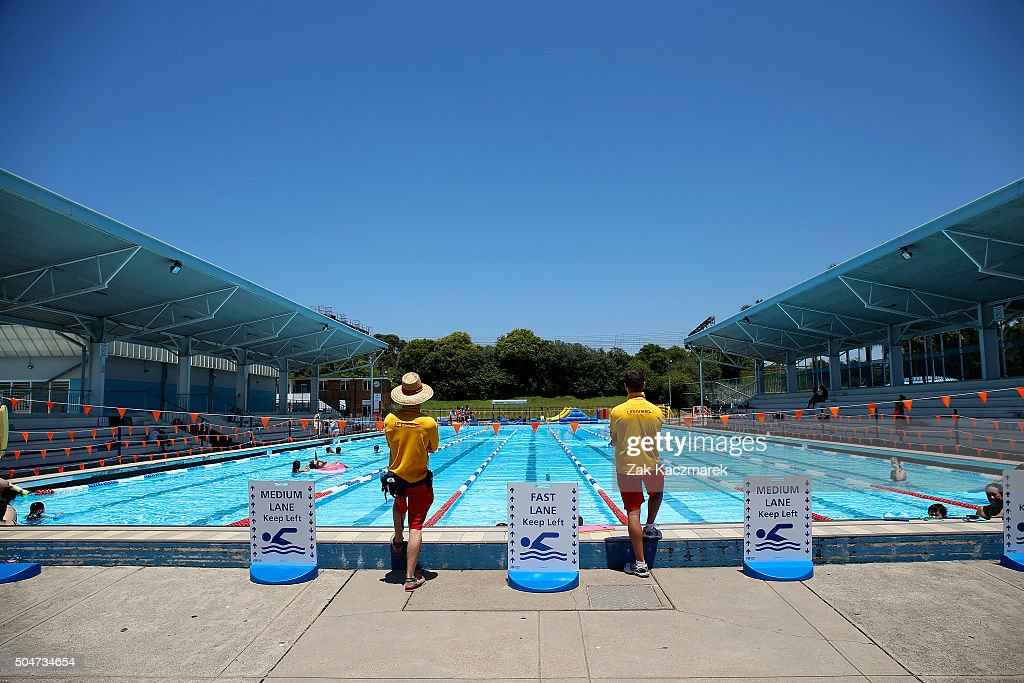 Temperatures keep rising as sydney heatwave conditions for Pool show sydney 2016