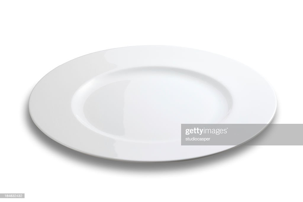 plate on white