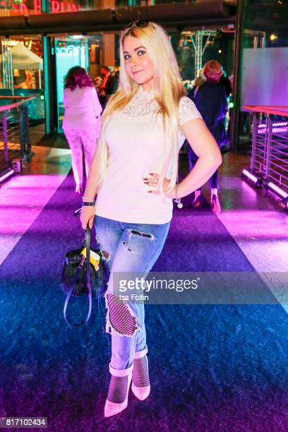 Lifestyle Blogger Nadine Trompka attends the 'Atomic Blonde' World Premiere at Stage Theater on July 17 2017 in Berlin Germany