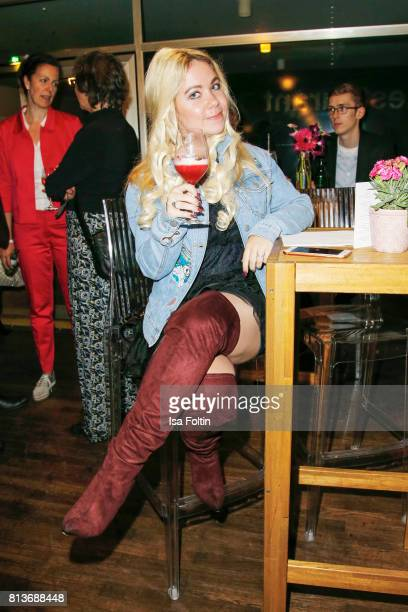 Lifestyle Blogger Nadine Trompka during the summer party 2017 of the German Producers Alliance on July 12 2017 in Berlin Germany
