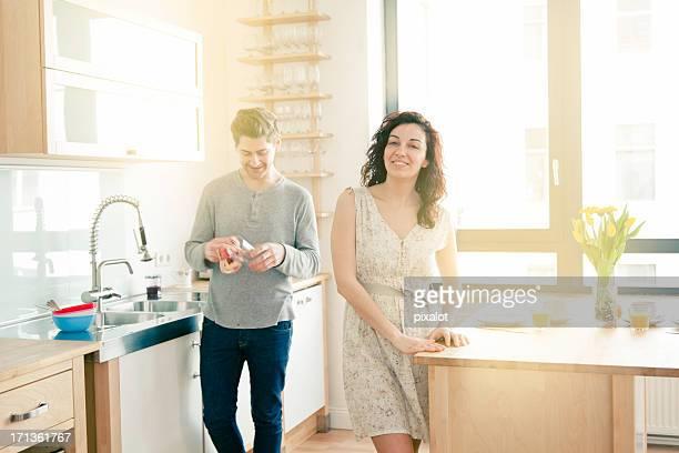 Casal de estilo de vida