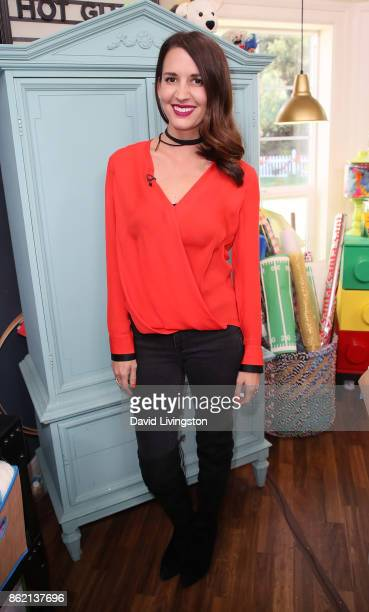 Lifestyle expert Erin Ziering attends Hallmark's 'Home Family' at Universal Studios Hollywood on October 16 2017 in Universal City California