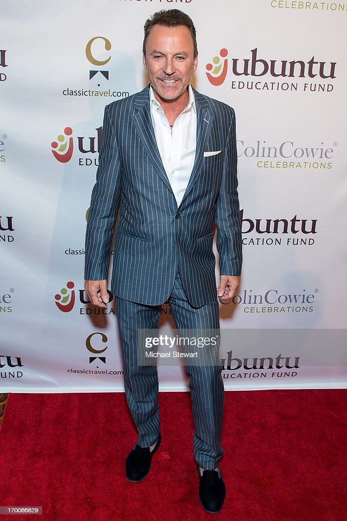 Lifestyle Guru and Party Planner Collin Cowie attends Annual Ubuntu Education Fund NY Gala at Gotham Hall on June 6, 2013 in New York City.