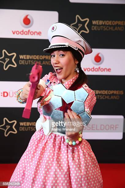 Lifestyle winner Breeding Unicorns during the Webvideopreis Deutschland 2016 at Castello on June 4 2016 in Duesseldorf Germany