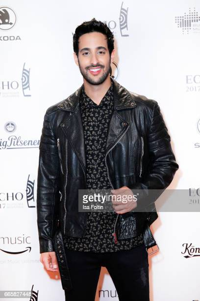 LifestyleBlogger and influencer Sami Slimani during the Echo award red carpet on April 6 2017 in Berlin Germany