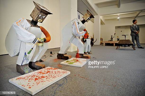 LifestyleChinaartpeasantinventors FEATURE by D'Arcy Doran In a picture taken on May 12 2010 Chinese peasants' robots on display as part of the...