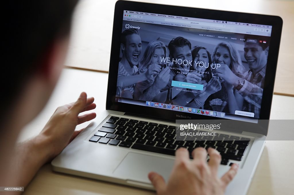 LifestylemeetupstechnologytelecommunicationdatingFEATURE by Theo Merz This photo taken on June 30 2015 shows Camilo Paredes the Colombianborn...