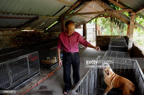 LifestyleVietnamsocietyanimalFEATURE by Tran Thi Minh Ha This photo taken on June 16 2012 shows Nguyen Bao Sinh owner of Hanoi's first private...
