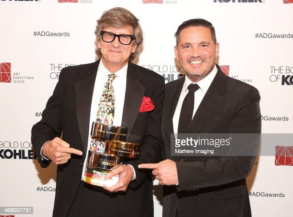 Lifetime Achievement Award Honoree Rick Carter and Kohler Designer Tristan Butterfield at the 18th Annual ADG Awards held at The Beverly Hilton Hotel...